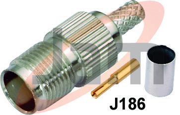 TNC Socket Crimp Type ( Derlin )