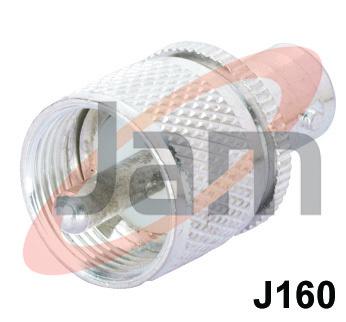 UHF Plug  BNC Socket (PTFE)
