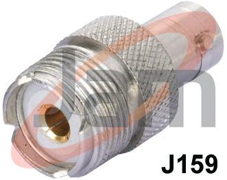 BNC Socket  UHF Socket (PTFE)