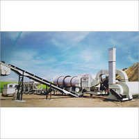 Solid Asphalt Drum Mix Plant