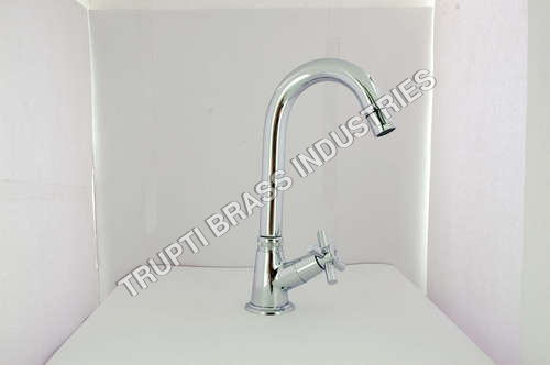 Pillar Tap With Swan Neck