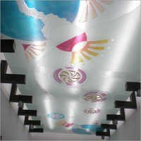 Designer Ceiling Glass