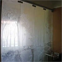 Sliding Glass Partitions