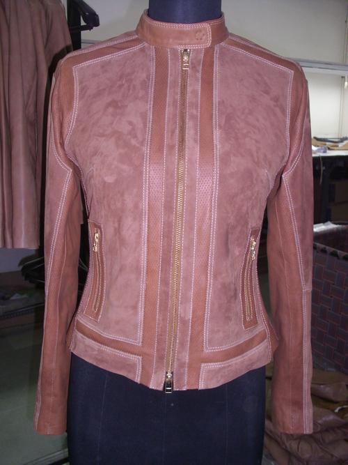 Mix Leather Jacket