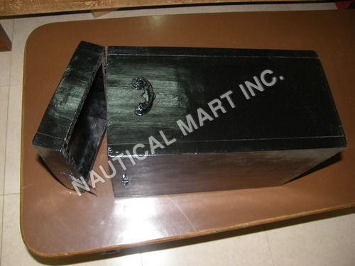 WOODEN BLACK BOX