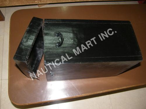 WOODEN BLACK BOX
