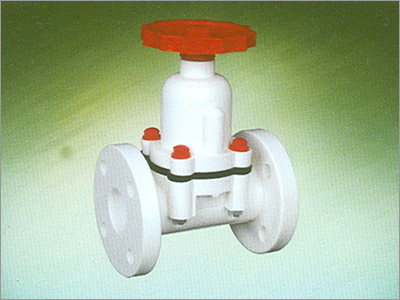 PP Diaphragm Flange End Valve