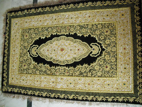 Hand Embroidered Carpet