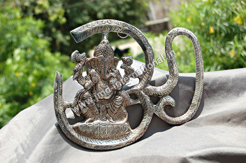 OM Style Ganesh Wall Hanging