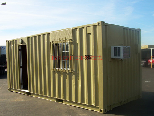 Container Office Exterior