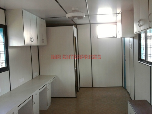 Container Site Office with Toilet