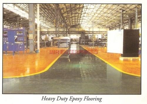 Poured Epoxy Flooring