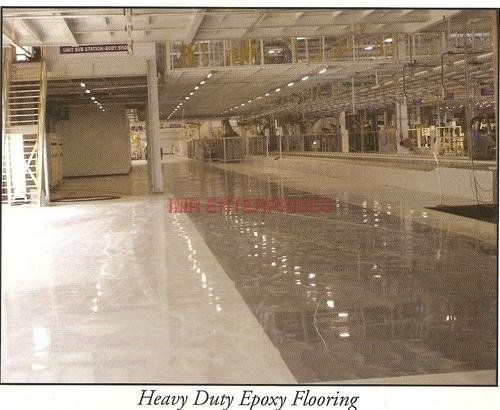 Heavy Duty Epoxy Flooring