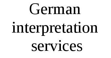 German Interpretation Services