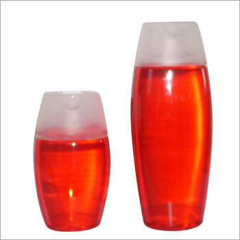 Plastic Shampoo Plain Bottle