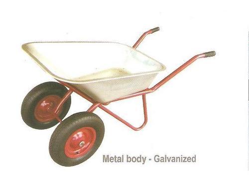 G.I. Double Wheel Barrow