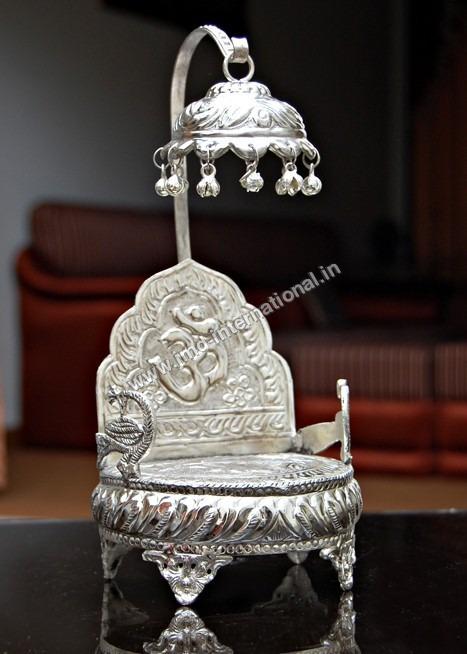 Brass Singhasan