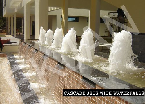 Cascade Fountain With Falls