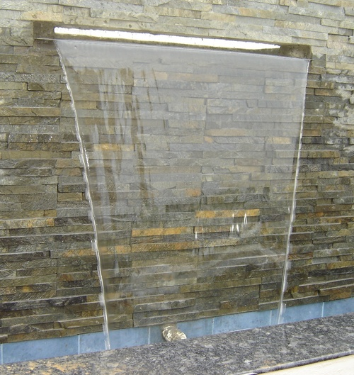 WATER CASCADE FALLS