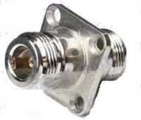 N female to N female 4 hole adaptor