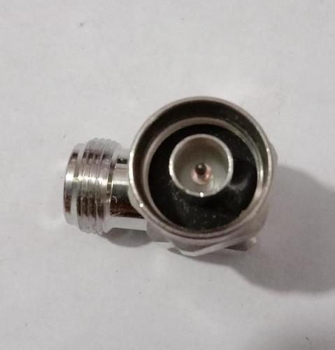 Right angle N male to N female adaptor
