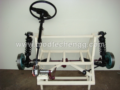 Cut Section Model Recirculating Ball Type Steering