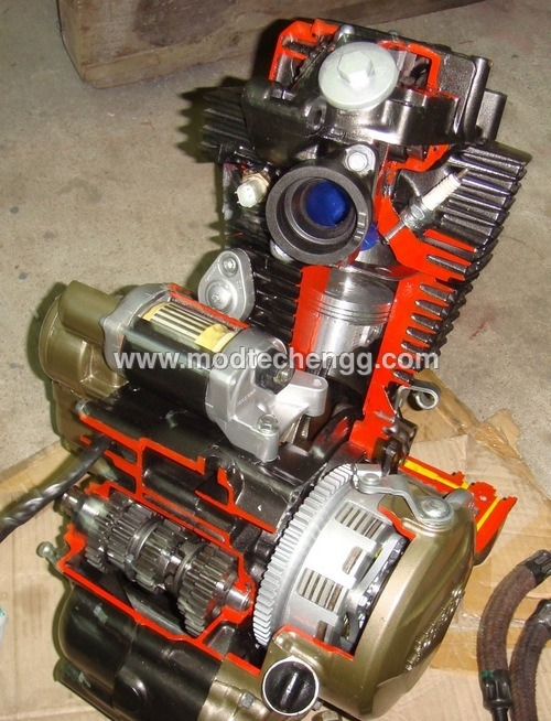 Two Wheeler Engine