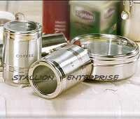 Transparent Lid Canister