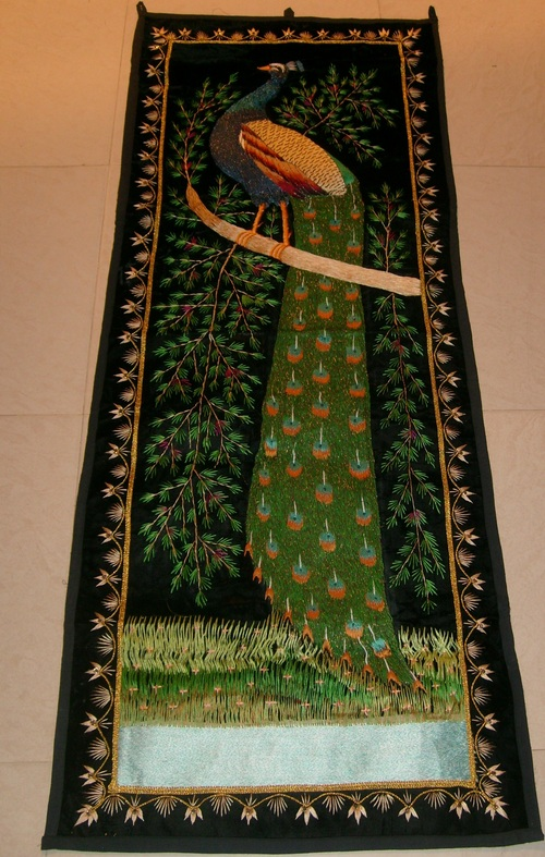 Decorative Silk Tapestry