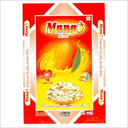 BOPP PP Laminated Rice Bags