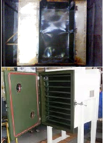 PTFE Coated Vaccum Oven