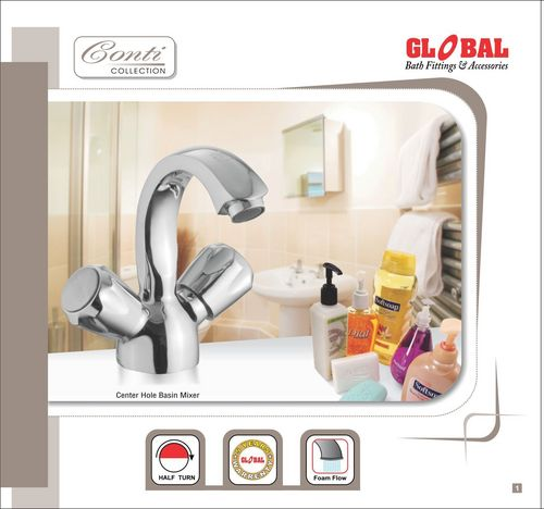 Conty Central Hole Basin Mixer
