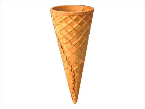 sugar rolled biscuit cone