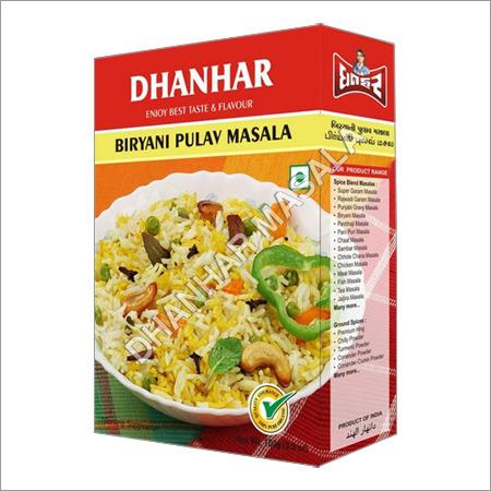 Biryani Pulav Masala Manufacturer Exporters India