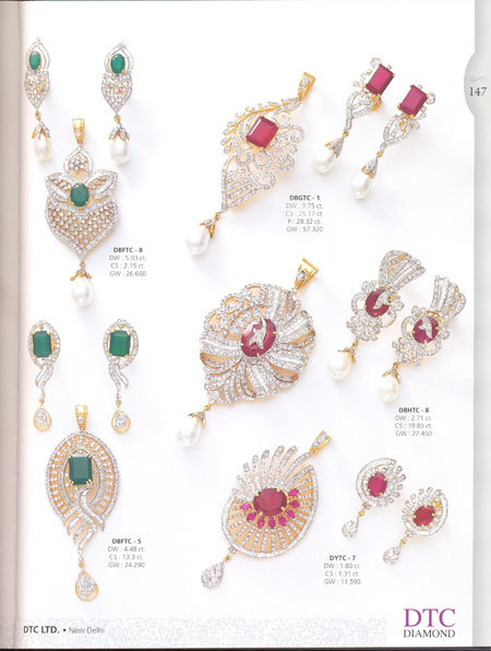 DTC Diamond Jewellery Book