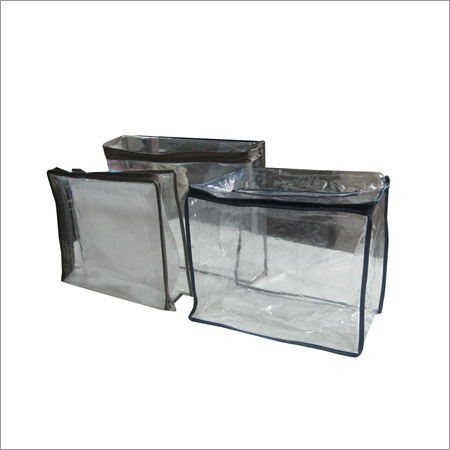 PVC Bags With Colored Trims