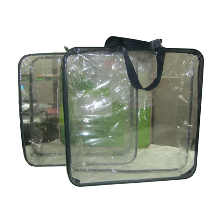 Wire Frame Comforter Bags with Handle
