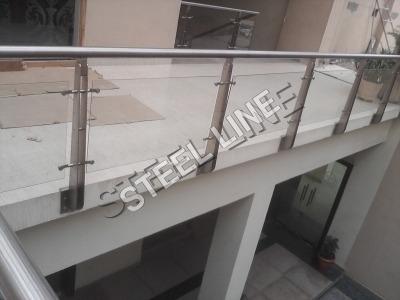 Interior Stair Glass Railings