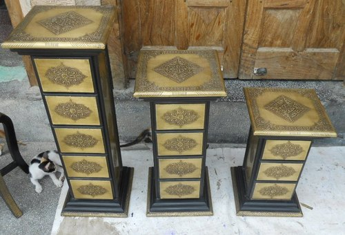 Antique Brass Furniture