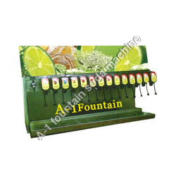 14 Valve Soda Fountain machine
