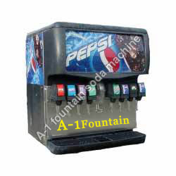 8 Valve Soda Machine
