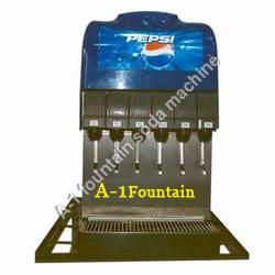 6 Valve Soda Fountain Machine