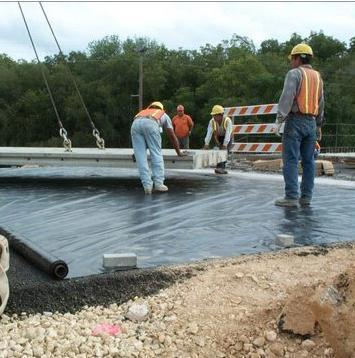 HDPE Sheets Lining of Roads