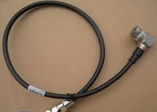 N male right angle to N male right angle LMR 200 cable