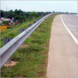Highway Metal Crash Barrier
