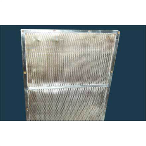 Filter Plate For Flakes Air Dryer