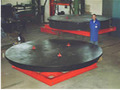 floor turn table for welding manipulators