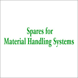 Material Handling Spares Systems