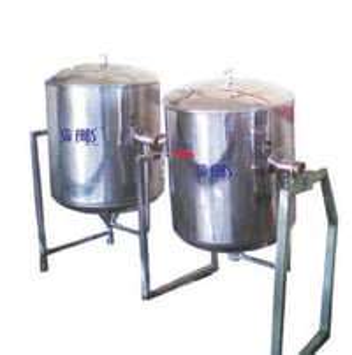 Rice Vessel / Single Jacketed Vessel