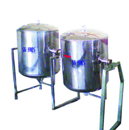Rice Vessel / Single Jacketed Vessel